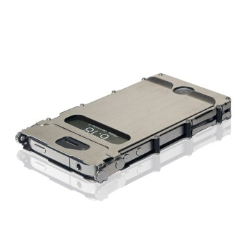 iNoxCase 360, Brushed Stainless, iPhone 4 & 4S