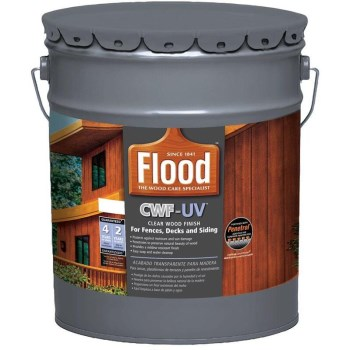 Flood CWF-UV Pro Seriers Deck/Siding Stain, Natural ~ Gallon