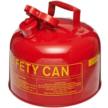 Red Safety Fuel  Can ~ 2 Gallon