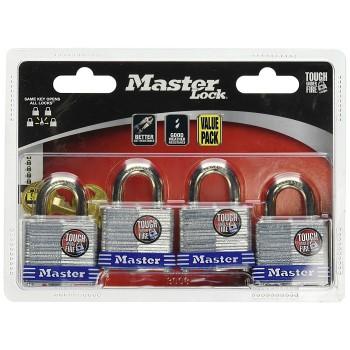 MasterLock 3008D Laminated Steel Pin Tumbler Padlock ~ KA