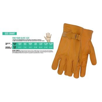 Boss 6023M Leather Gloves - Unlined - Medium 6023M