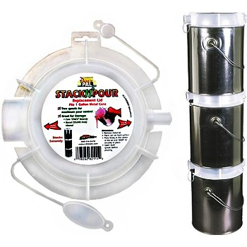 Stack-N-Pour Paint Can Replacement Lid - Gallon