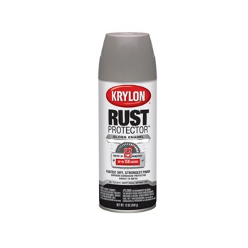 Krylon K06901700 Rust Protector Enamel, Gloss ~ Classic Gray