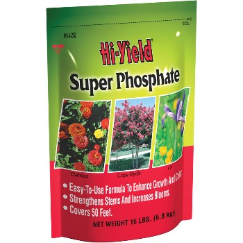 Super Phosphate Fertilizer - 15 pound bag