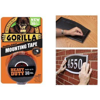 "Gorilla Heavy Duty Mounting Tape ~ 1"" x 60"""