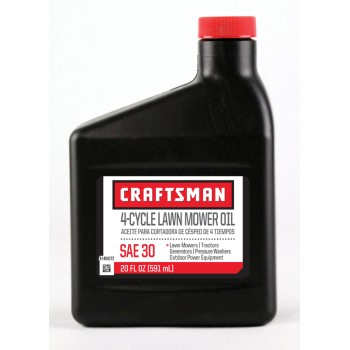 Warren Dist CRLM3020 Lawn Mower Oil, 30W ~ 20 oz.