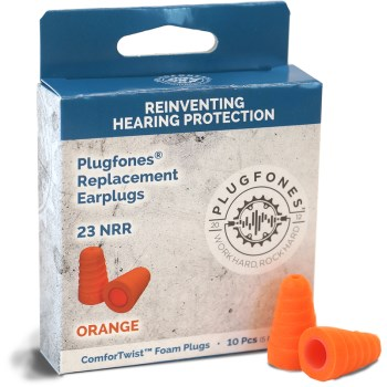 ComforTwist Replacment Foam Plugs, Orange