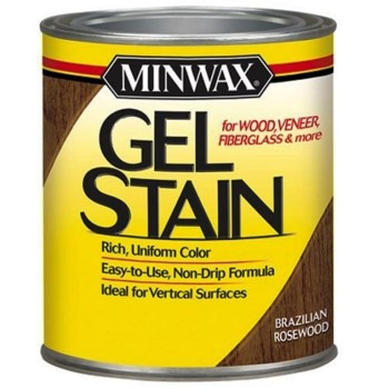 Gel Stain, Brazillian Rosewood ~ Quart