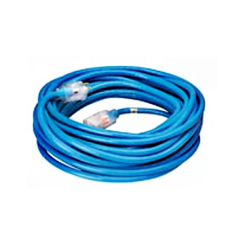 Coleman Cable 02467 Indoor/Outdoor Extension Cord - 25 feet