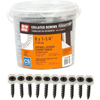 Prime Source CS114CBK 1-1/4 Collated Screw CS114CBK