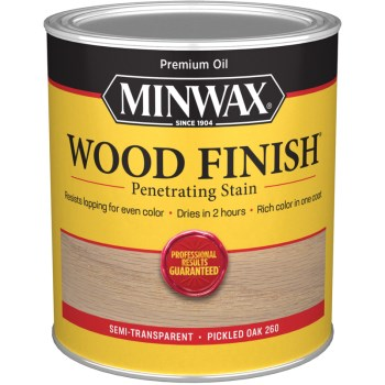 Wood Finish ~ Pickled Oak,  Quart