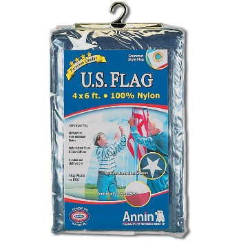 4ftx6ft Nylon Us Flag