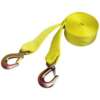 Tow Strap w/Hooks ~ 15 Ft
