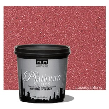 Metallic Plaster Coating ~ Luscious Berry/Quart