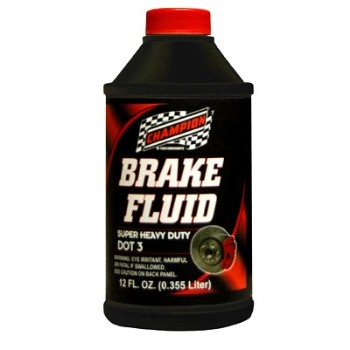 Brake Fluid - DOT3 - 12 oz