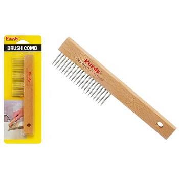 Brush Comb Clean-Up Tool