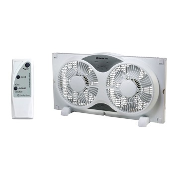 Upc 075877132765 Comfort Zone Cz310r Twin Window Fan