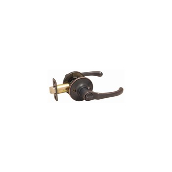 Privacy Lever Lock, Greystone