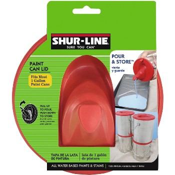 Paint Can Lid Shelf Pack ~ Gallon