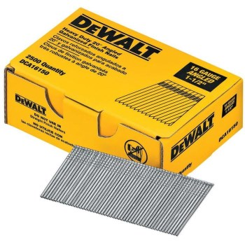 DeWalt DCA16150 Angled Finish Nails, 1-1/2 inch