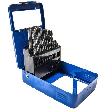 21pc Hss Drill Bit Set