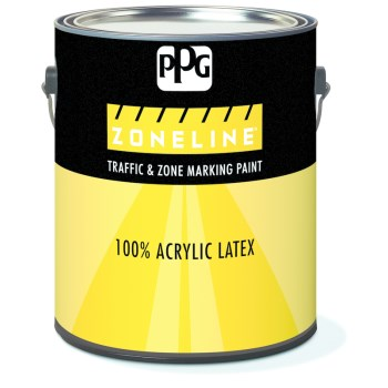 Ppg Architectural Finish/ Ppg Paint 11-55/01 1155 1g Blue Traffic Paint