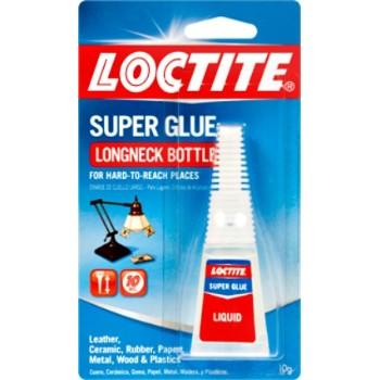 Henkel/OSI/Loctite 234796 Super Glue, Long Neck Bottle ~ 10 grams