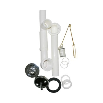 "Waste & Overflow Assembly,  1-1/2"" PVC"