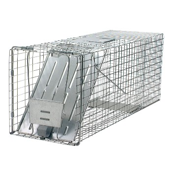 Woodstream 1079 Trap, Professional Grade Raccoon Sized 32 x 10 x 12 inch