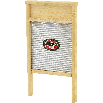 Behrens Mfg  BWBG12 Washboard, Galvanized ~ Large