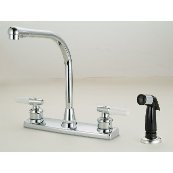 Hardware House  123334 12-3334 Ch Kitchen Faucet