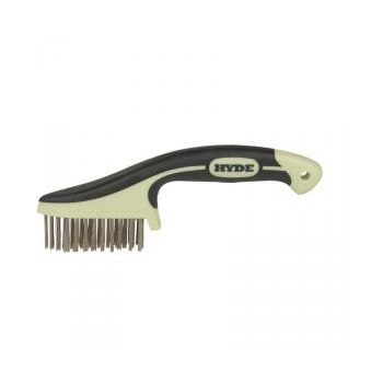 Maxxgrip Pro Stainless Steel Wire Brush ~ 8 3/4""