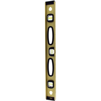 Great Neck 10122 Magnetic Anodized Gold Aluminum Level  ~ 24""