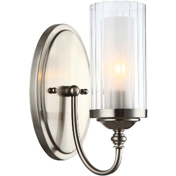 Lexington Wall & Bath Fixture ~ Satin Nickel