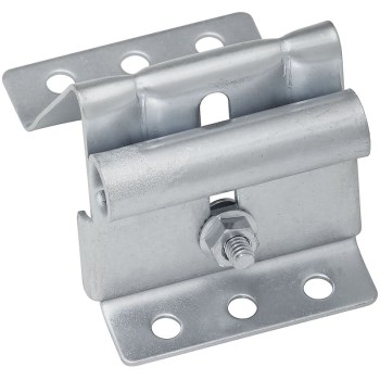 Galvanized Adjustable Top Roller Bracket, Visual Pack 7628