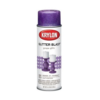 Glitter Blast Spray Paint,  Grape ~ 5.7 5oz