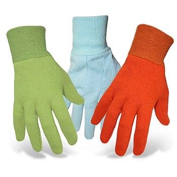 Children's Solid Jersey Gardener Gloves ~ Fits approx 5-8 years old