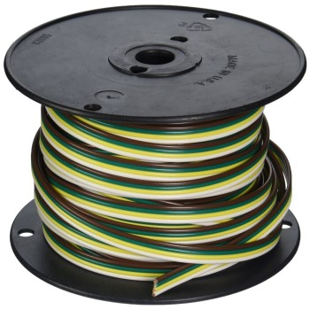 Coleman Cable 51564-03-18 Trailer Wire, 16G ~ 100 Ft