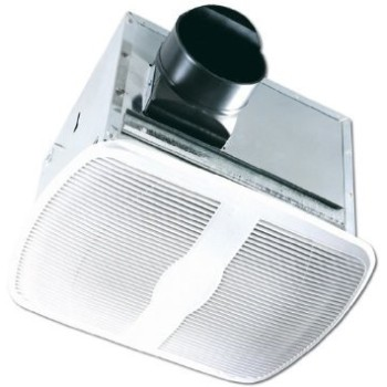 Air King Ventilation  694020 Exhaust Fan w/ Light, White ~ 80 CFM