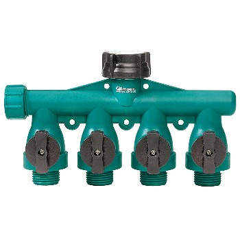 Shutoff Valve ~ Full Flow, 4-Way