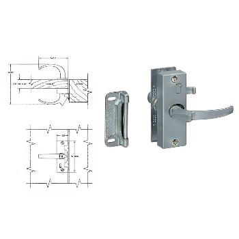 Aluminum Screen-Storm Door Latch
