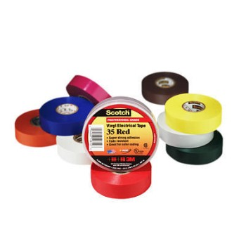 3M 054007108696 Electrical Tape - Orange - 0.75 inch x 66 feet