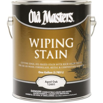 Wiping Wood Stain, Aged Oak ~ Gallon