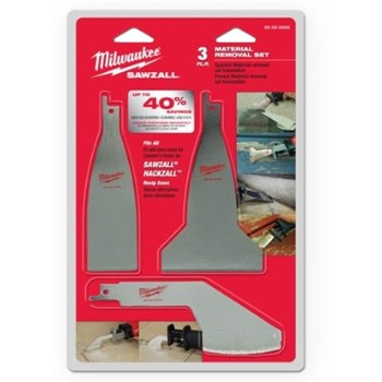 Removal Blade Set, 3 Piece
