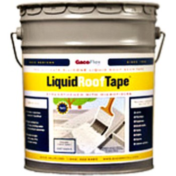 Liquid Roof Tape ~ 5 Gallon Bucket/Light Gray