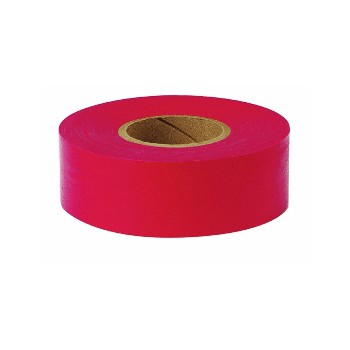 Flagging Tape - Red - 1 inch x 150 feet