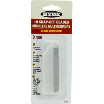 10pk 9mm Snap-Off Blades