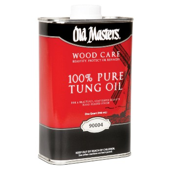 Old Masters  Qt 100% Tung Oil