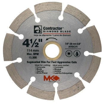 MK Diamond 167012 4-1/2in. Diamond Blade