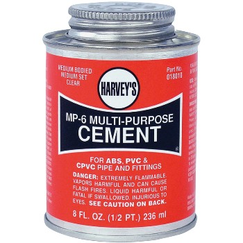 Multi Purpose Cement, MP-6  ~ 8 Ounce
